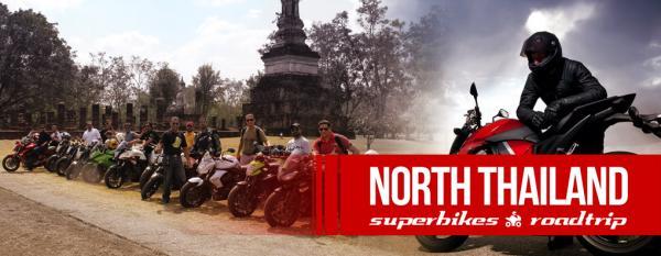 Biking trip in North Thailand