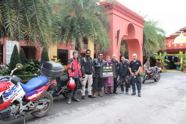 Motorcycle Trip in Thailand
