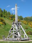 trebuchet at Castle Urquhart