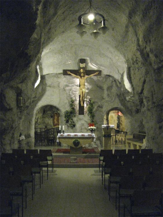 Budapest-Cave Church: Church of St. Istvan