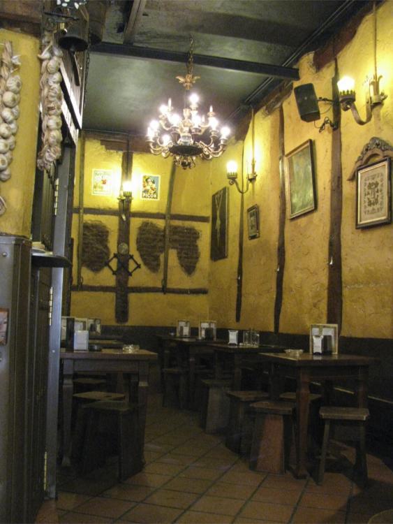 Madrid-Interior of a tapas bar