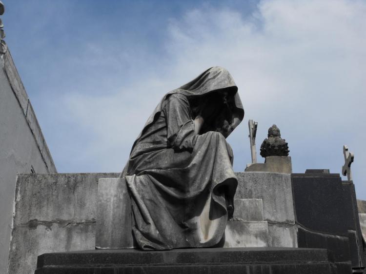Recoleta Cemetary Statue