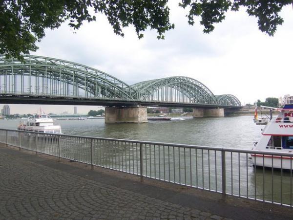The Rhine in Koln