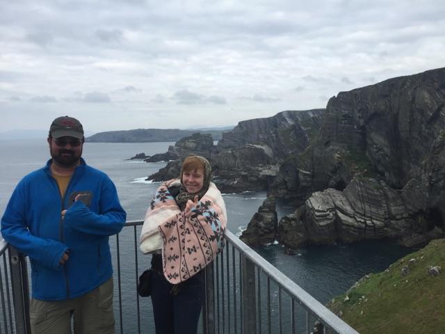 Mizen Head in Ireland.  October 2015
