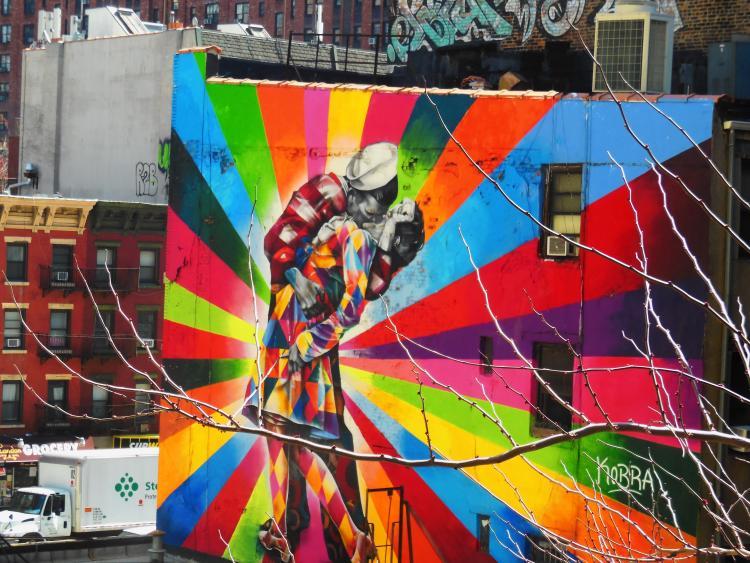 Wall Graffiti - New York City