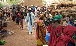 Market in the Dogon town of Bamba