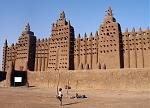 The Djenne mosque is the largest mudbrick building in the world